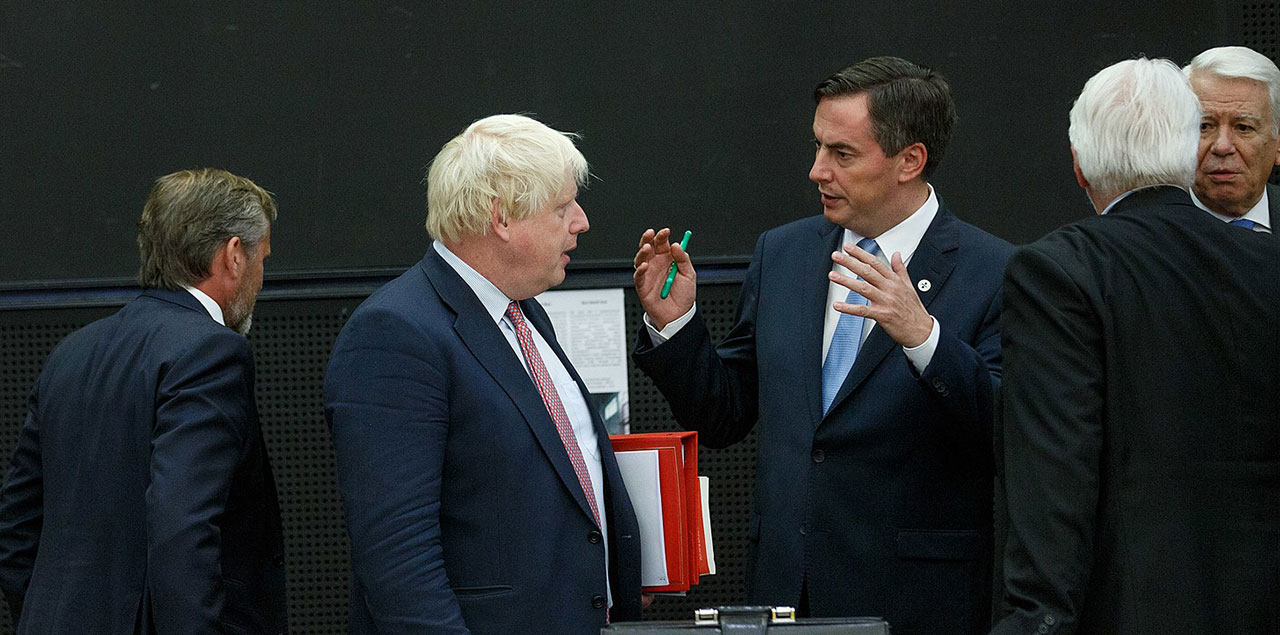 Boris Johnson (links) und David McAllister