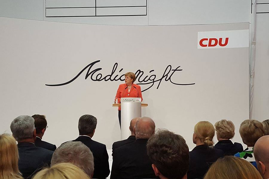 CDU Media Night 2016 A - Angela Merkel