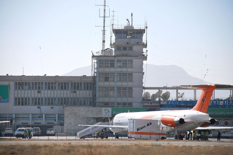 Kabul International Airport, Afghanistan