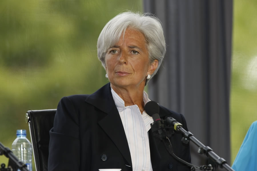 Christine Lagarde / Managing Director of the IMF